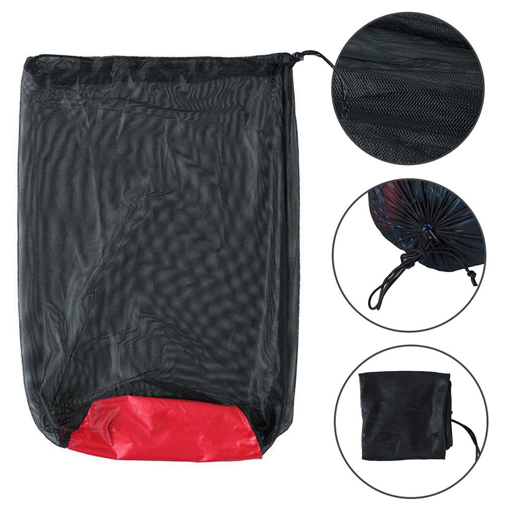 Travel Kits Nylon Multifunction Storage Bag Compression Camping Sleeping Bag Folding Mesh Sack Sports Waterproof