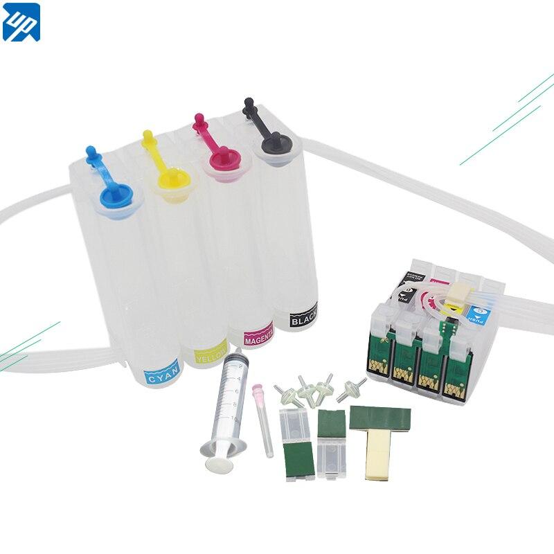 T0711 711 tinta ciss cis sistema de tinta a granel para epson s20 sx100 sx105 stylus b40w bx300f atacado