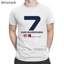 Kimi Raikkonen Sauber F1 2019 t-shirt personnalité excentrique Streetwear loisirs Hip Hop été Style hommes mode Humor Fit