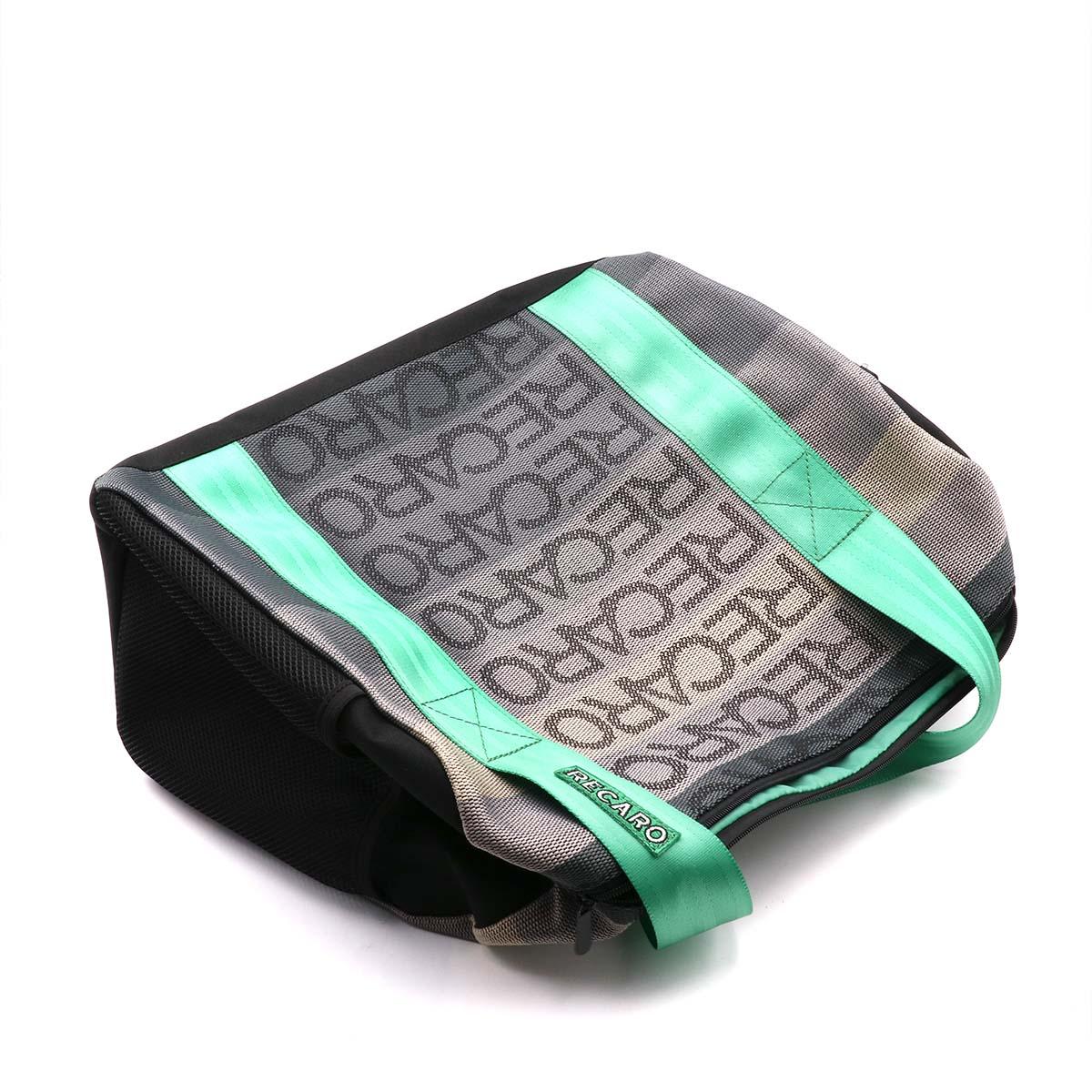 JDM Style RECARO Racing Handbag Messager Bags Traveling Bag With Racing Harness Straps