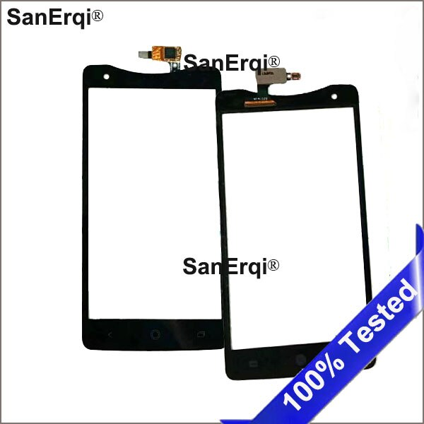 10 Uds. Digitalizador para Acer Liquid S1 S510 pantalla táctil de cristal Panel reemplazar par S1 teléfono digitalizador táctil frontal SanErqi