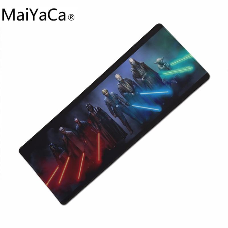 MaiYaCa коврик для мыши «Звездные войны» 900x300 мм коврик для мыши с закрытыми краями компьютерный коврик для мыши игровой коврик для мыши геймер ...