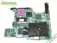 nokotion 461068 001 laptop motherboard for hp pavilion dv9000 pm965 gf 8600m gs ddr2 mainboard free shipping