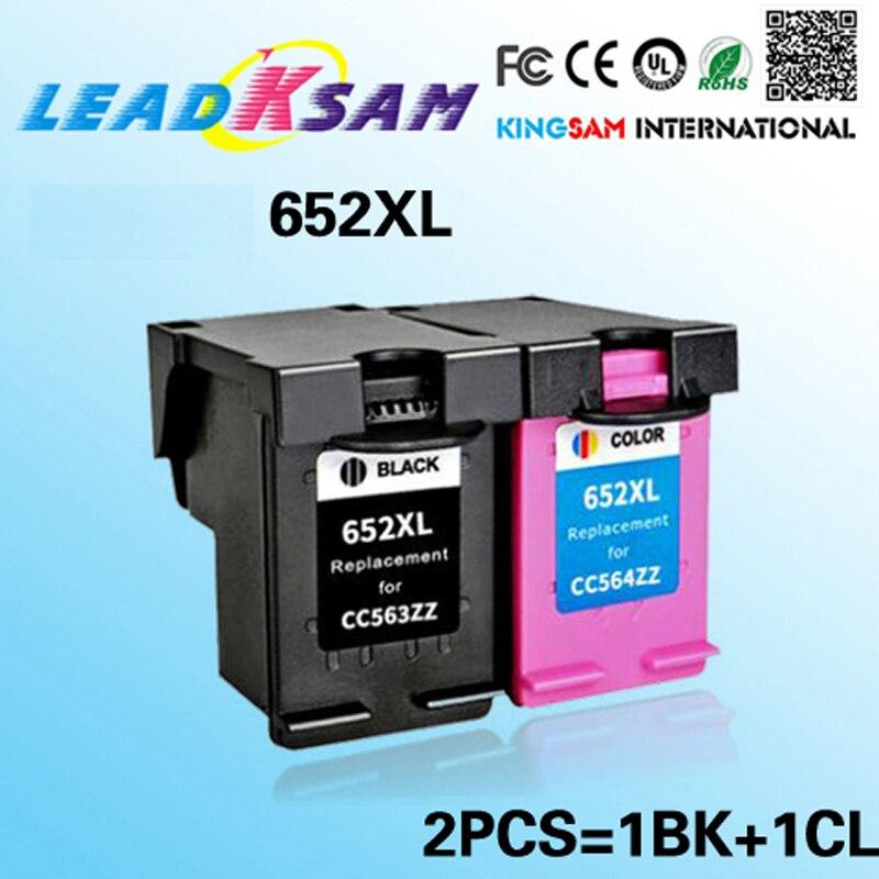 Compatible para hp652 652 652XL DeskJet serie 1115, 2135, 3635, 3775, 3785, 3835, 4535, 4675, 1115 impresora
