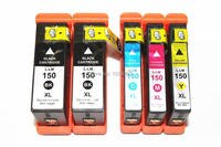 5 x Compatible Lexmark 150 XL Ink Cartridges For Lexmark S515 S715 Pro715 Pro915 H.Q