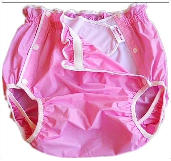 Freies Verschiffen FuuBuu2219-Pink-XL-1PCS Wasserdichte hosen/Erwachsene Windel/inkontinenz hosen/Tasche windeln