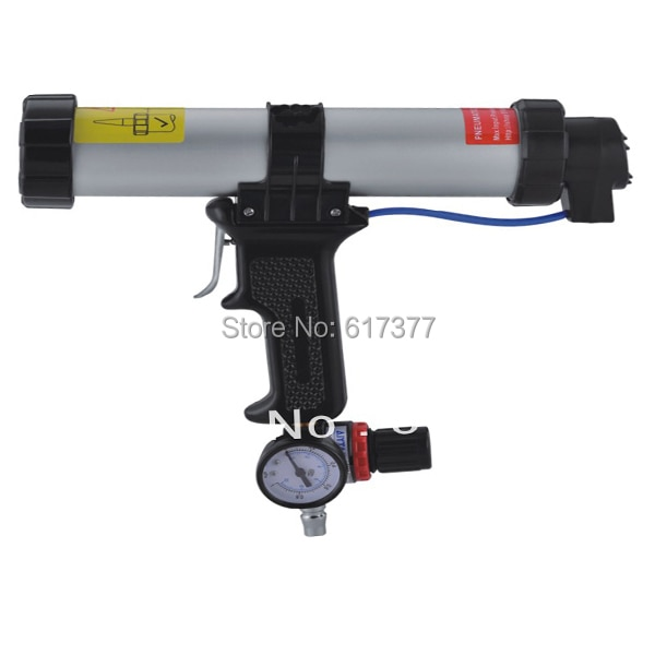 gauge type pneumatic caulking gun with display list adjust the air pressure accurately when caulking display list aircaulkinggun