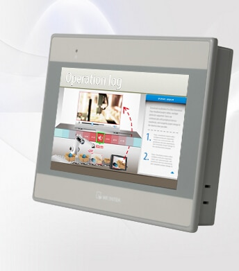 NOVA MT8071iE WEINVIEW Weintek HMI, MT-8071IE Touch Panel, substituir MT8070iE & MT8070iH, 7 Polegada TFT 32 Bits 600 MHZ