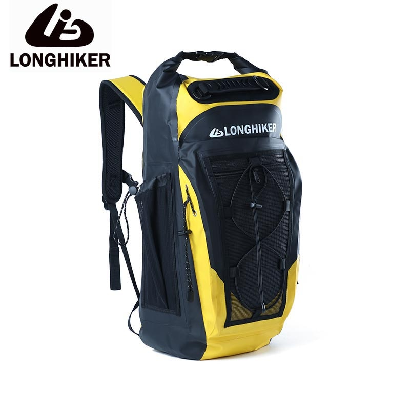 camouflage 20l sports ocean swimming water proof backpack bag for outdoor pvc waterproof dry pool impermeable bag backpack 30L Outdoor Sports PVC Waterproof Hiking Cycling Backpack Bag For Impermeable Swimming Swim Water Proof Dry Backpack