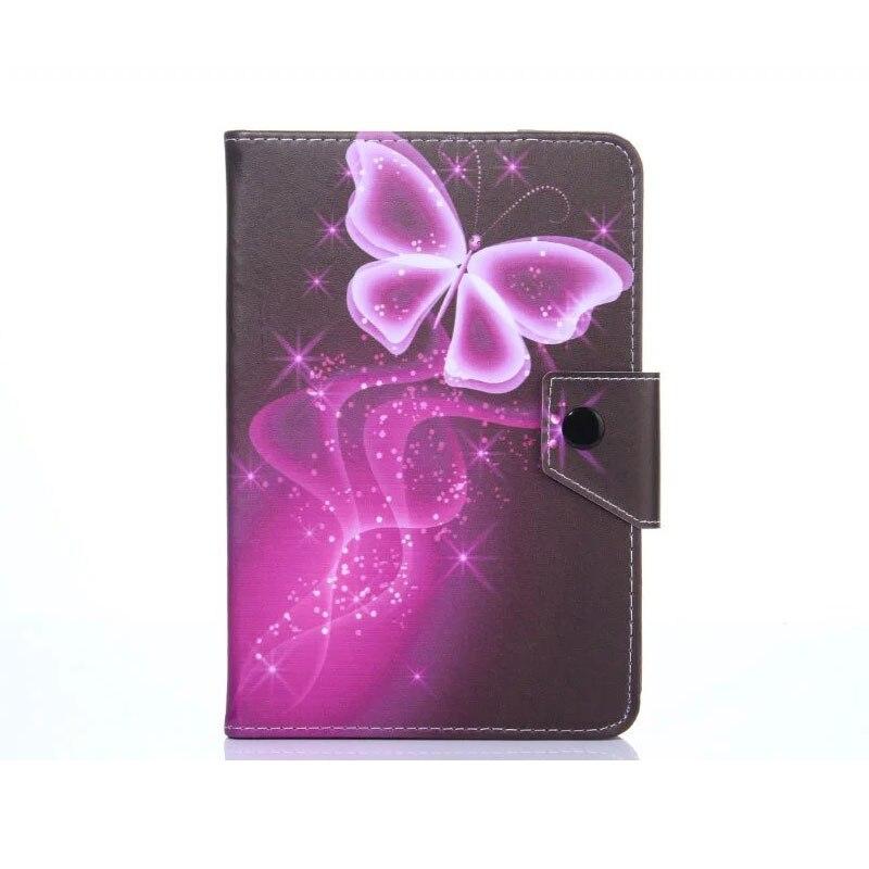 Myslc Universal para TurboPad 803/802 3G 8 pulgadas tableta impresa PU funda vertical de cuero