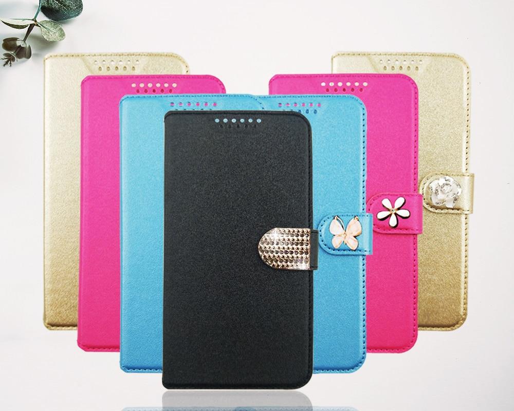 Para Micromax Q415 Q465 Q409 Q351 Q380 Q465 impreso Flor Mariposa especial funda billetera Flip Funda de cuero