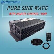 Инвертор переменного тока 1500 Вт с чистым синусоидальным дисплеем