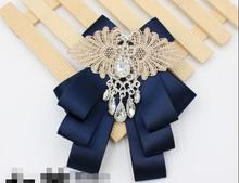 New free shipping Summer WOMAN male Best Man Men Sequin Bow Tie Dress Groom Wedding Suit Korean Tie British Bowtie Collar Black