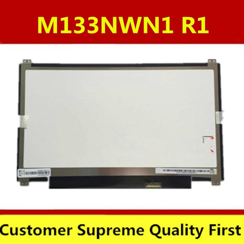Envío Gratis N133BGE-EAB B133XTN01.2 B133XTN01.3 M133NWN1 R3 R1 30pin agujeros de tornillo LCD portátil pantalla LED