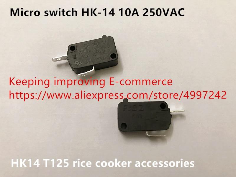 Original new 100% micro switch HK-14 10A 250VAC T125 rice cooker accessories