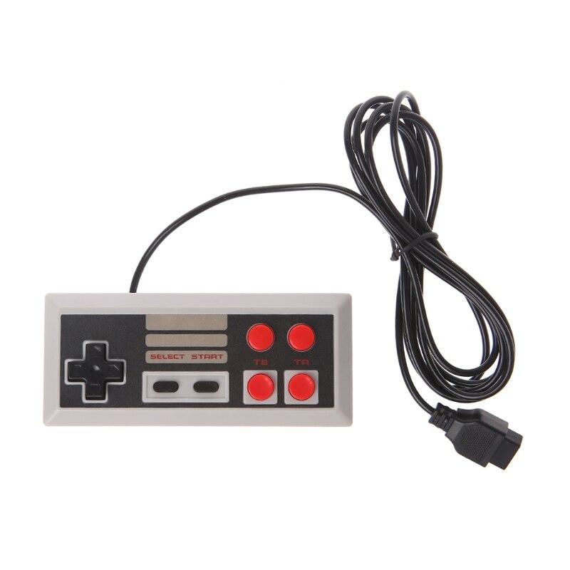 4 кнопочный контроллер геймпад для Coolbaby TV портативная видеоигра 9 Pin консоль