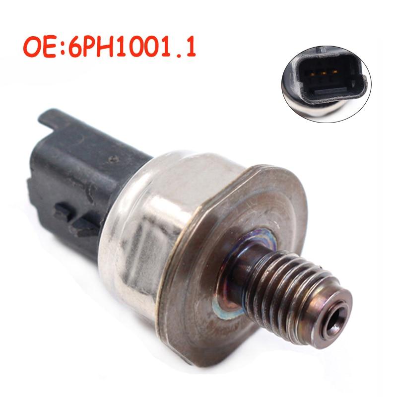 OEM 6PH1001.1 For Citroen Jumpy Peugeot Partner Tepee 1.6 Hdi JTD Car Fuel Rail Pressure Sensor 9655465480 6PH1001 High Quality