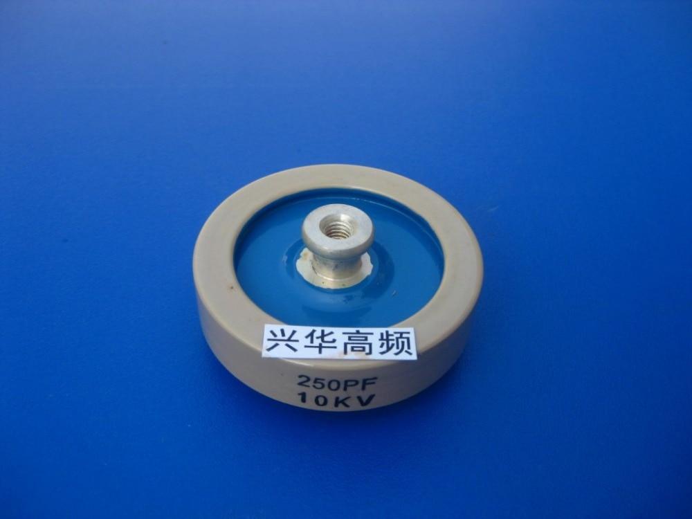 250PF 10KV عالية التردد آلة عالية التردد عالية الجهد السيراميك السيراميك عازلة مكثف