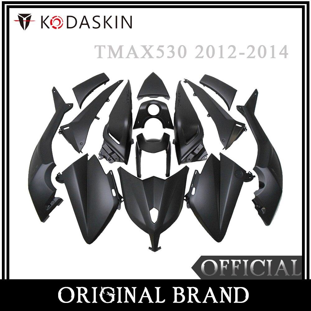 KODASKIN motocicleta Tmax carenado ABS inyección de plástico Tmax530 Kit de carenado pernos de carrocería para Yamaha Tmax 530 2012 2013 2014