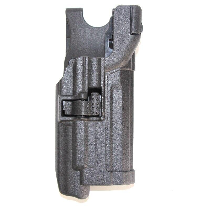 Coldre de arma Militar Tactical HK USP Rolamento Auto Fechamento Dever Pistol Gun Coldres Com Luz Carry Case Holster Acessórios De Caça