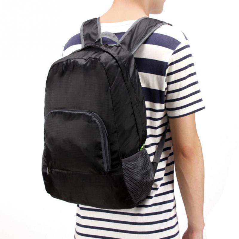 Mochila ligera plegable impermeable de Nylon para hombres y mujeres, mochila para viajes, deportes al aire libre, Camping, senderismo, mochila