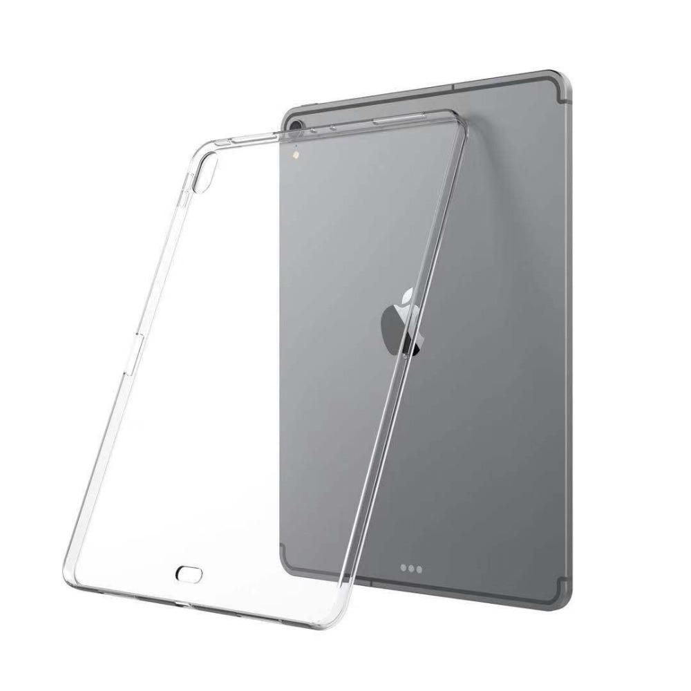 Funda transparente HYAIZLZ para iPad Pro 12,9, funda delgada, funda de cristal TPU antiarañazos para Tablet, ordenador para iPad Pro 12,9 2018