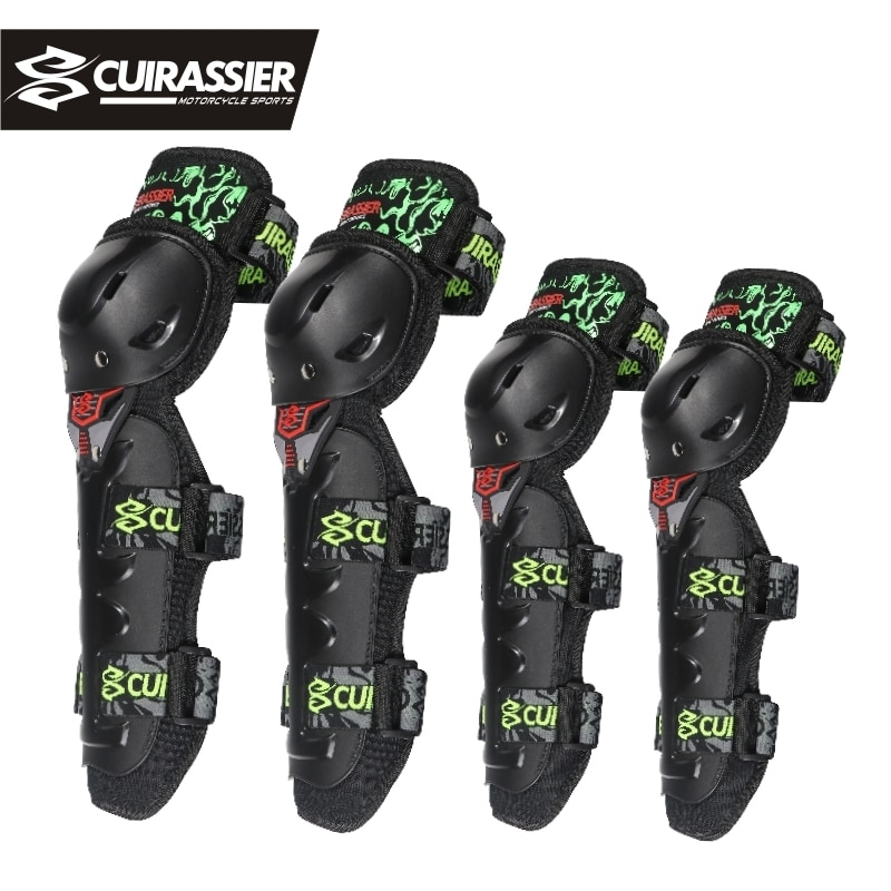 Motorcycle Protective kneepad High Quality CE Knee Protector Moto Racing Guards Motocross Cuirassier K05E05 Black motocicleta enlarge