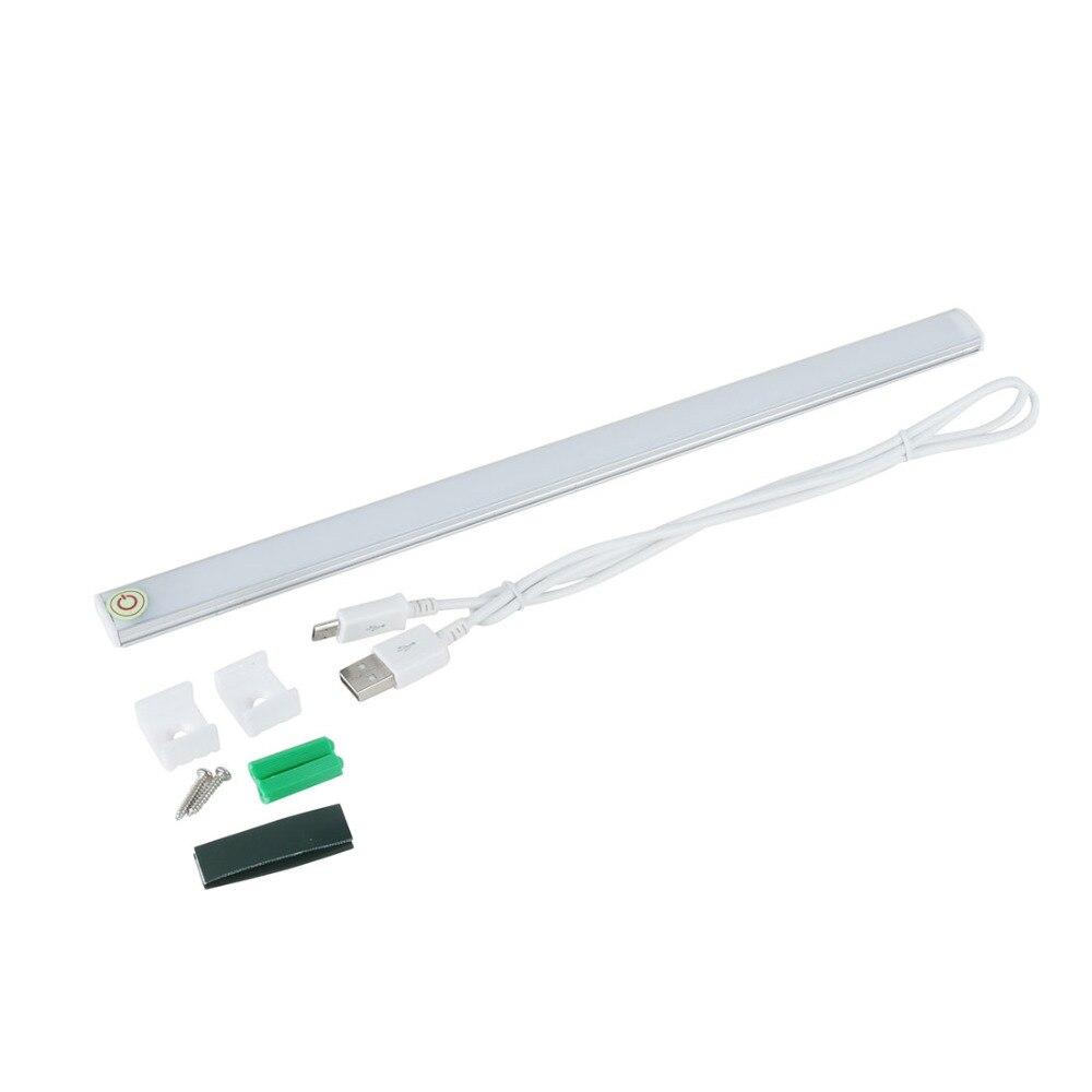 USB 21 LED Touch Sensor Light Bar Drawer Cabinet Wardrobe Closet Kitchen Bedroom Camping Nightlight LED Tube Night Lamp