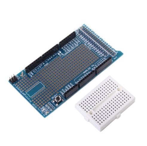 2 unids/lote MEGA ProtoShield V3 tablero prototipado tablero multipropósito (con tablero de pan) módulo