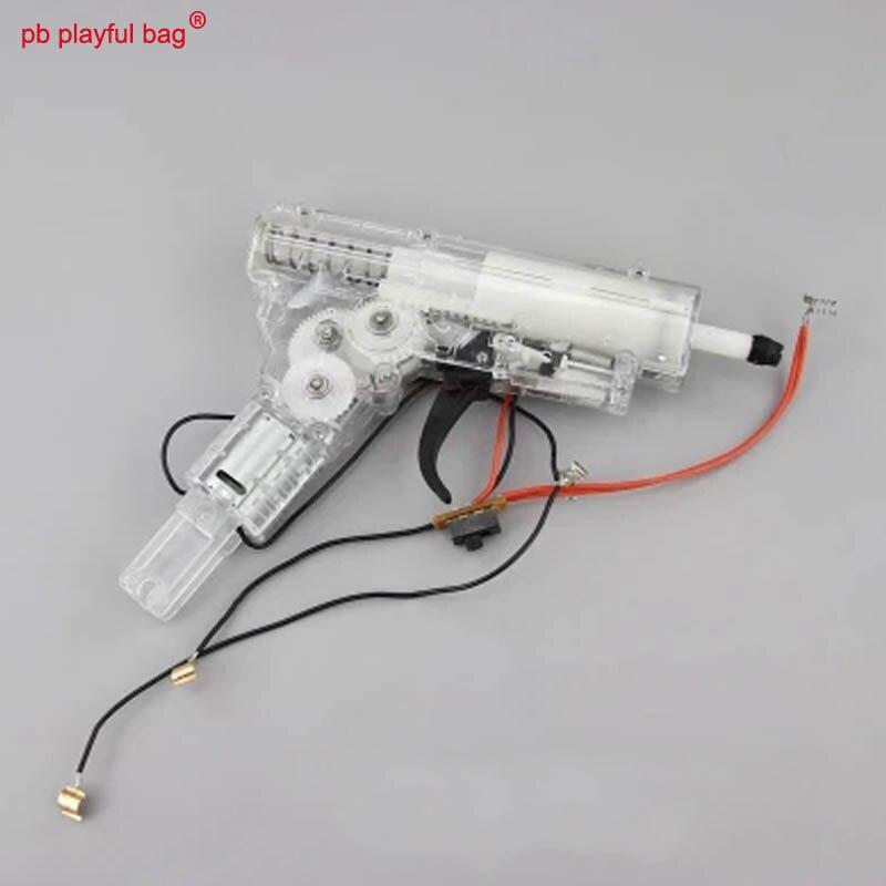 Juguetón bolsa DIY juguete Lehui HK416 V2 onda caja bajo el proyectil eléctrica fuego pistola de balas de agua original de fábrica NA39