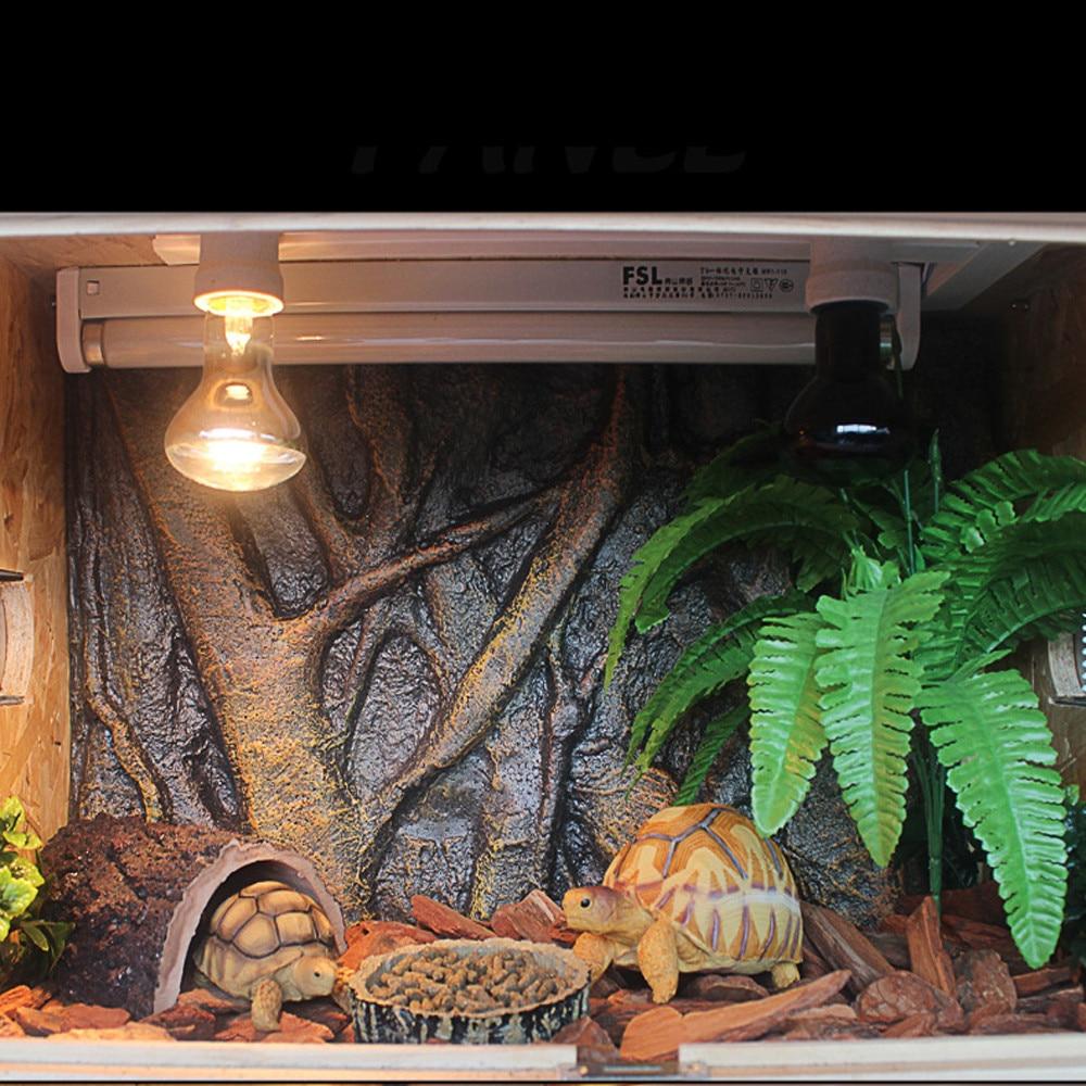 De espuma 3D para acuario, fondo de roca, fondo de reptiles, tablero del tanque de peces, accesorios de decoración de simulación, 60x45cm 1 unidad