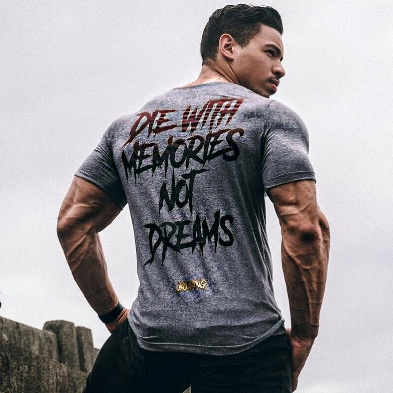 Camiseta deportiva de algodón para gimnasio, camiseta para correr, camisetas de secado rápido para hombre, camisetas deportivas de manga corta para entrenamiento de gimnasia, Camiseta deportiva, camiseta Rashgard