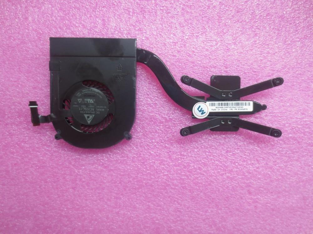 New Orig Cpu Fan & Heatsink For Lenovo Thinkpad X1 Yoga X1 Carbon 4th 01AVW976
