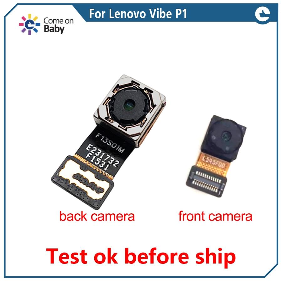Para Lenovo Vibe P1 P1c58 P1c72 F13S01M P1a42 cámara trasera grande trasera cámara principal trasera cemera piezas de repuesto