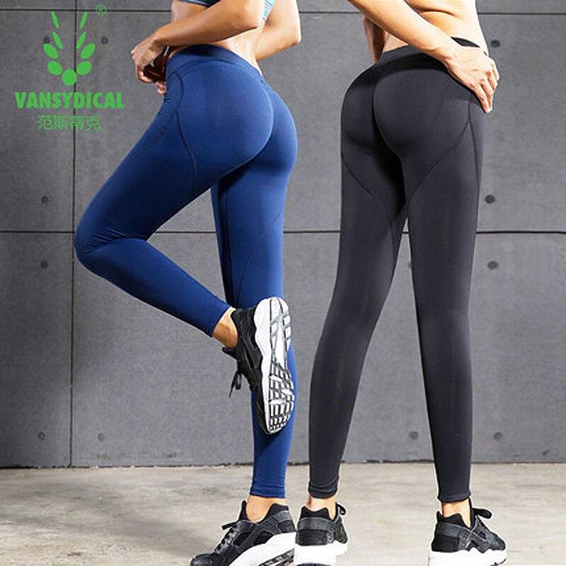 Calças de Yoga Leggings de Compressão Calças de Treinamento Esportes Mulheres Correndo Collants Ginásio Esporte Femme