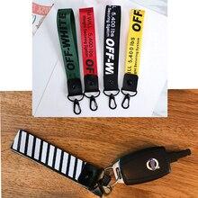 Porte-clés de voiture en Nylon   Chaîne de téléphone, vêtements pour Opel Insigina Vectra Toyota Corolla RAV4 Avensis CHR Nissan Juke Tiida