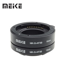 Meike Auto Focus Macro Extension Tube Ring for Sony E-Mount A6300 A6500 A6000 A7 A7II A7III A7SII NEX-7 NEX-6 NEX5R NEX-3N NEX-5