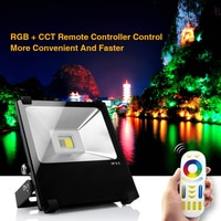 Mi. Light-FUTT01; 2.4 Ghz RGBW led מבול אור; עם Mi. Light-FUT092; 2.4 גרם RGB + מרחוק בקר CCT