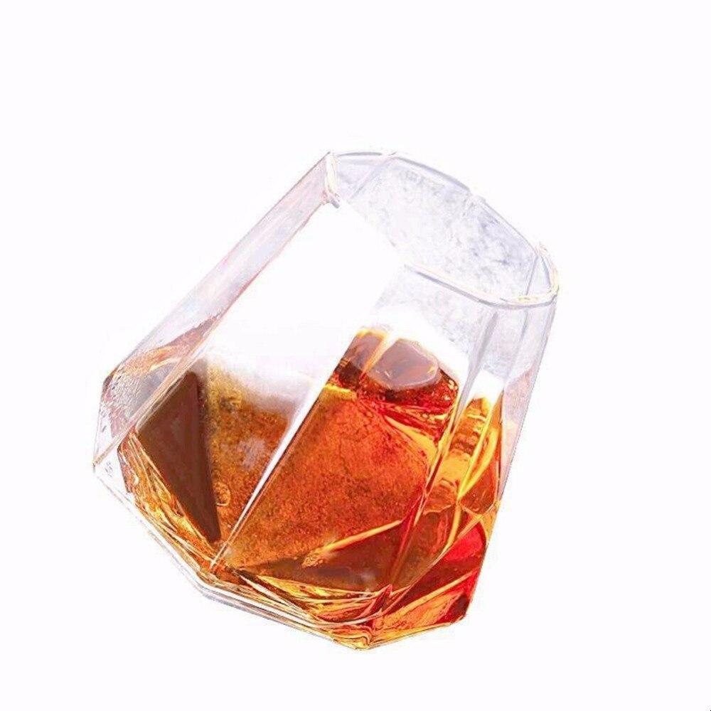 Vaso de jarras con forma irregular de cristal transparente Jo Meet para decoración de casas contenedor vacío 1 ud.