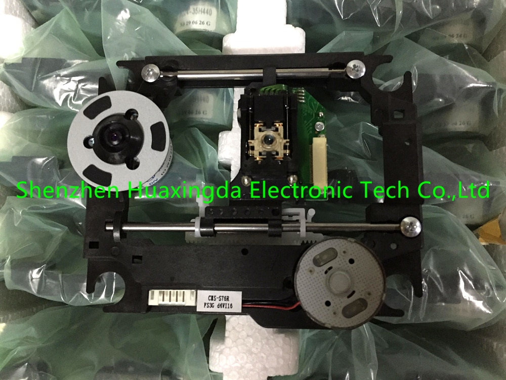 Free post 100% original new Pickups SOH-DL6 with plastic mech CMS-S76 (dl6 ccm) Optical pick up CMS-S76R for DVD Laser Lens S76R