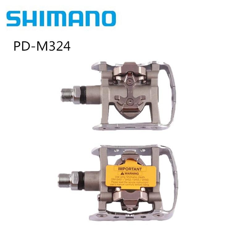 Shimano PD-M324 Multi Zweck SPD Pedale MTB Klick Clip Touring Berg PD-M324
