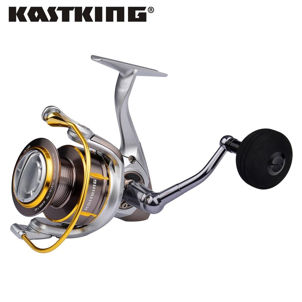 KastKing Kodiak полностью металлический корпус с морской водой, 18 кг, максимальная мощность, углеродное волокно, система сопротивления, 11 шариковы...