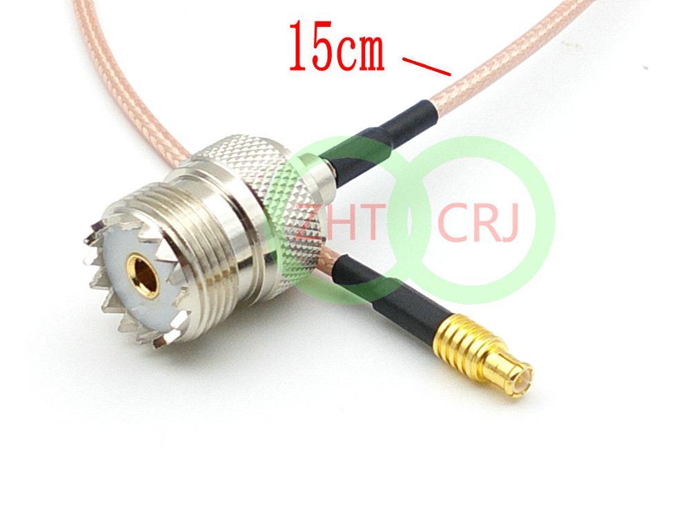 УВЧ женский SO239 переключатель MCX Штекер прямой кабель Пигтейл RG316 15 см