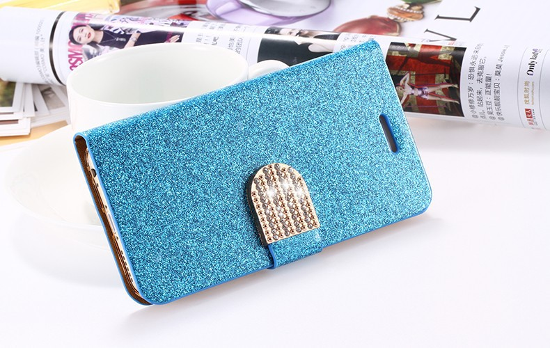Dla iphone 6 6s plus 7 plus cover glitter bling kryształ diament skórzany portfel case do samsung galaxy s6 edge plus s7 edge torby 18