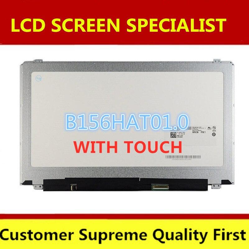 """Freies verschiffen 15,6 """"Für Dell Inspiron 15-5547 15-7547 7548 Touch + LCD Screen Digitizer B156HAT01.0 1920*1080"""