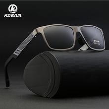 Мужские и женские солнцезащитные очки KDEAM, прямоугольные поляризационные очки для вождения, рыбалки, HD, KD6560S