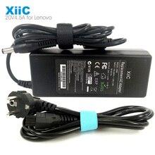 XiiC 20v 4.5a 90w 5.5*2.5mm adaptateur pour ordinateur portable alimentation secteur pour Lenovo IDEAPAD G470 Y460 Y470 G480 et ajustement 20v 3.25a 2a