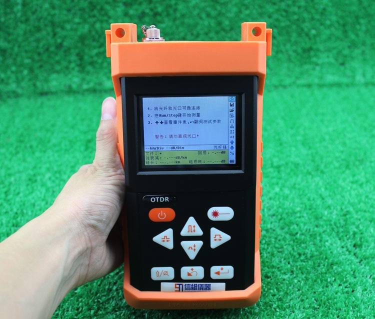 ShinewayTech S120A óptico OTDR 1310/1550nm 24/24dB