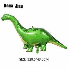 Dana Jiau-Ballon à feuille dinosaure   Ballon pour décoration de fête danniversaire, jouet pour enfants, Ballon à hélium, pour décorer les animaux, thème zoo, nouvelle collection