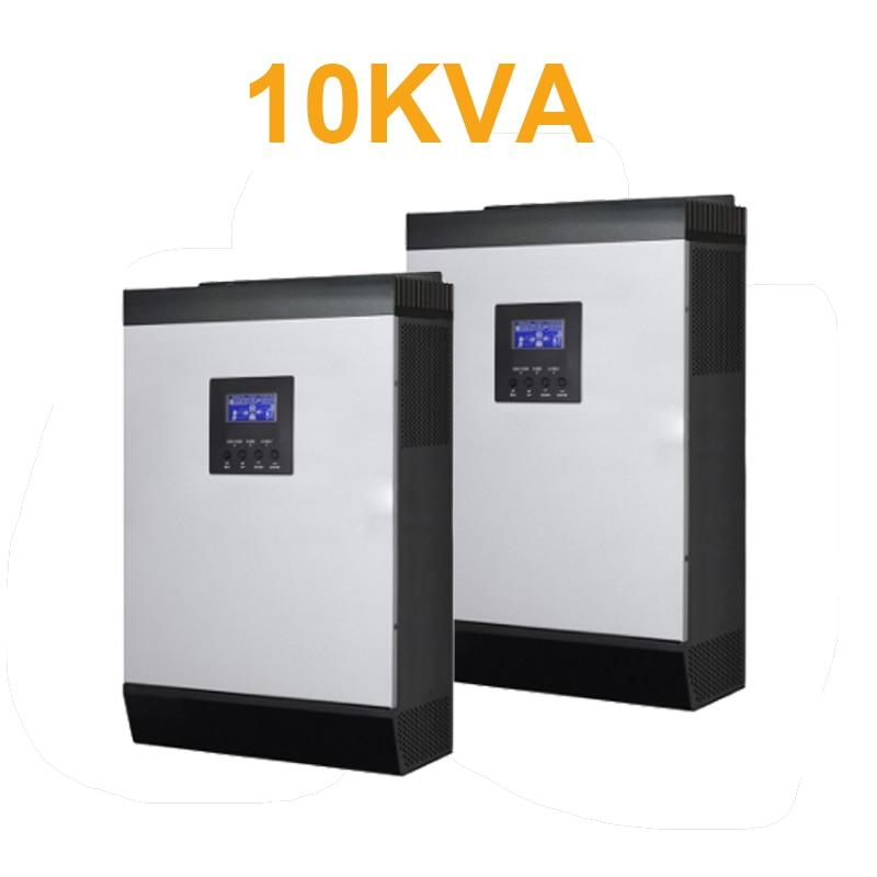 Convertisseur onduleur solaire à grille parallèle   Convertisseur 10kva DC48V à 220V/PWM/chargeur AC de lentrepôt sao paulo